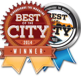 Best of City 2014 and 2013 winner logo